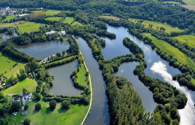 Bassin de debordement le long de la vilaine a bruz for Bassin a debordement