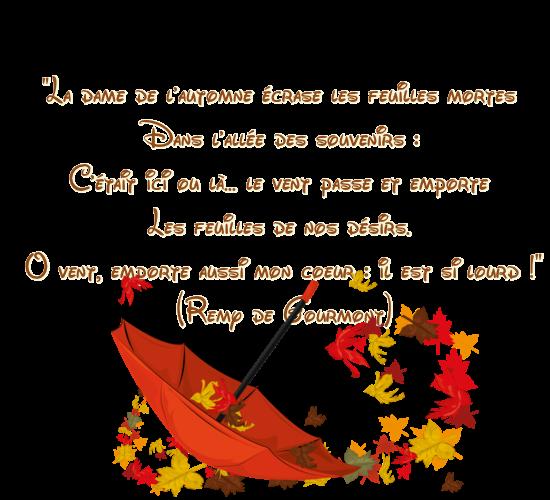 Citation Sur L Automne