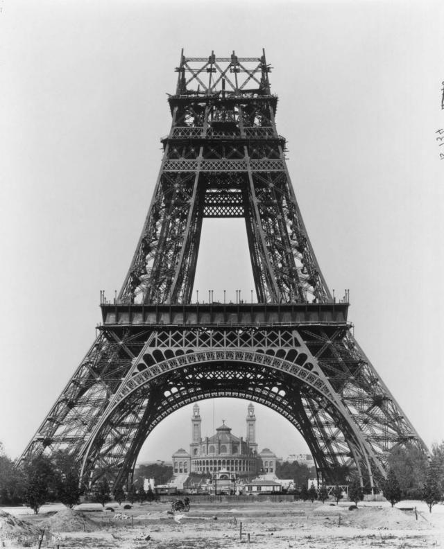 Tour Eiffel La Construction Paris - Photo gratuite sur …